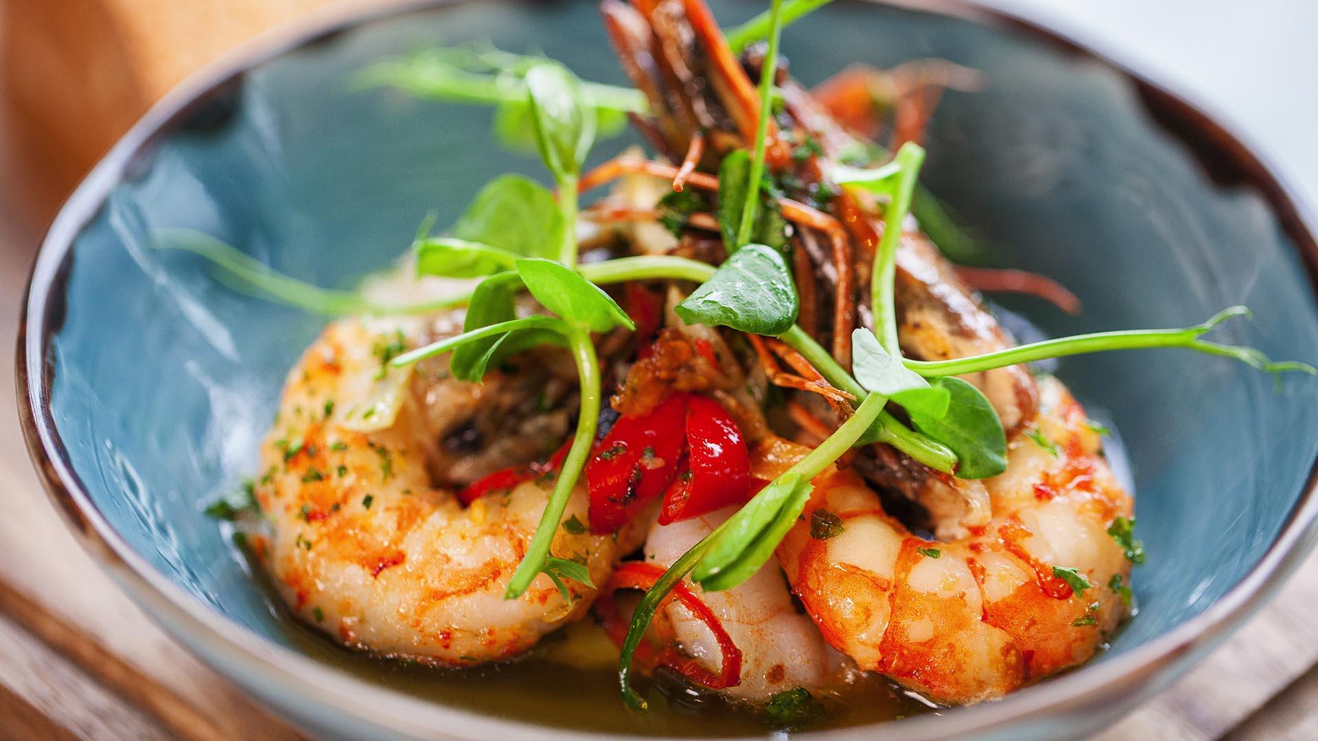 Restaurants in Manchester Best Western Manchester Cresta Court Hotel Townfields Restaurant Prawns