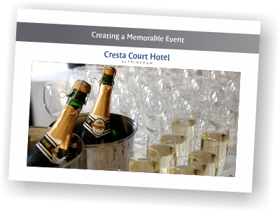 Events Brochure 2019 Cresta Court Hotel Manchester