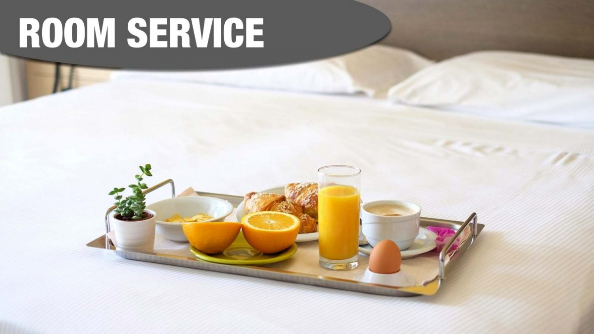ROOM SERVICE at Best Western Manchester Cresta Court Hotel Bedrooms