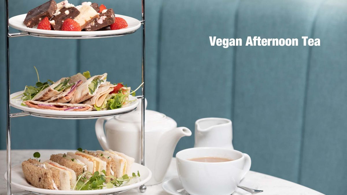 Vegan Afternoon Teas at Cresta Court Hotel