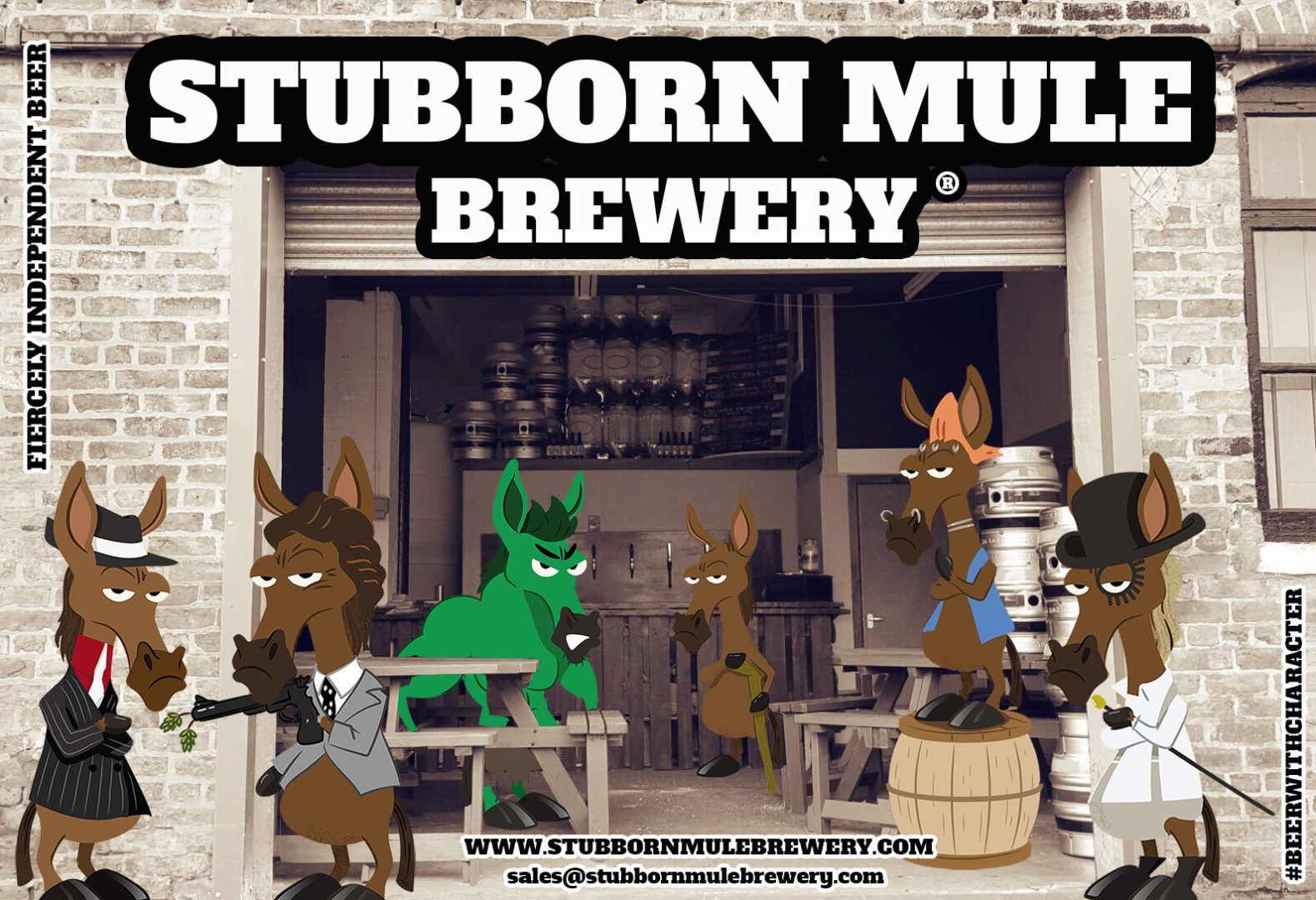 Stubborn Mule Brewery offers