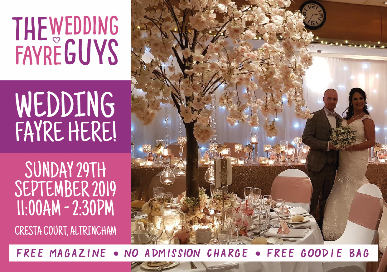 The wedding fayre at Cresta Court in association with The Wedding Guys